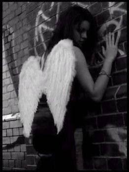Ange noir et blanc - Dessin ange noir et blanc ...